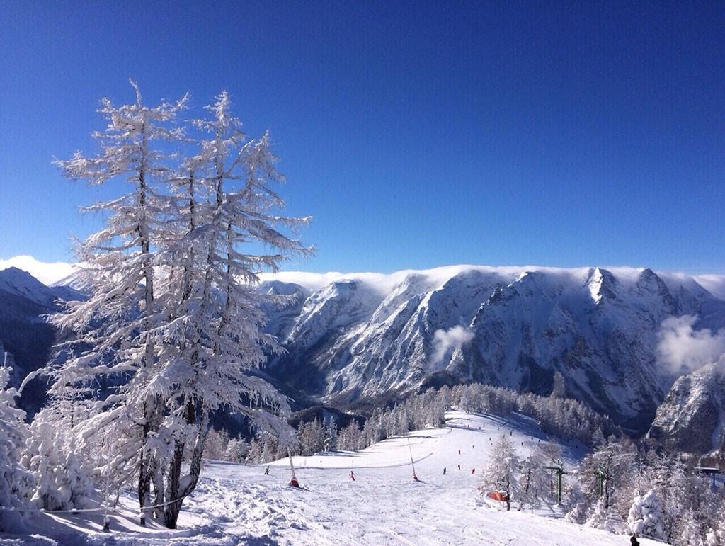 Winter und Skisport im Hinterstoder Skigebiet