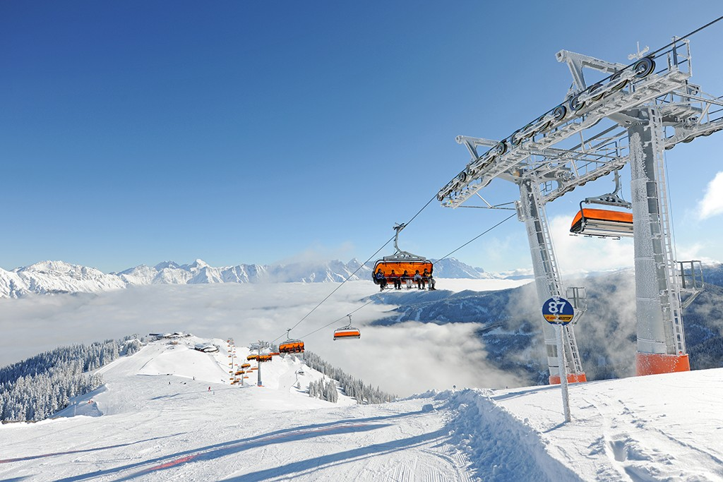 Leogang Saalfelden Skigebiet