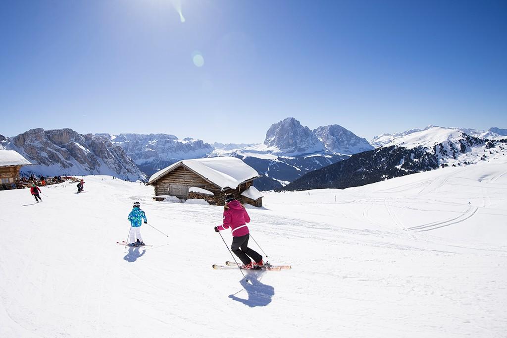 Val Gardena Skigebiet