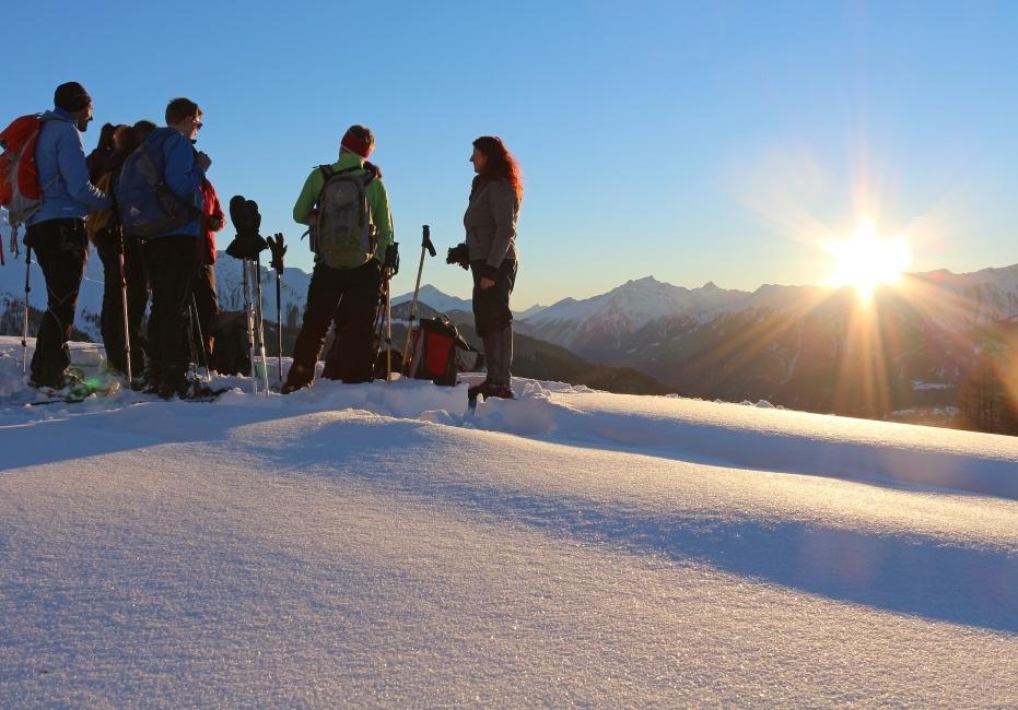 winter im Tiroler Oberland