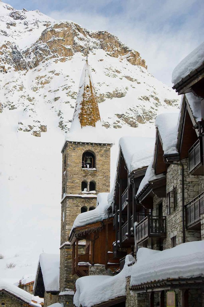 Val d Isere in Frankreich